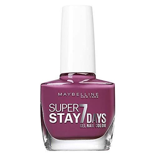 Maybelline New York - Superstay 7 Días, Esmalte de Uñas Efecto Gel, Tono 255 Mauve On