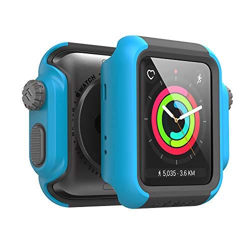 Catalyst Apple Watch 42 mm Cover Serie 3 e Serie 2 - Custodia Antiurto Grado Militare Protezione Apple Watch Series 2 Series 3 [Robusta Custodia Antiurto per iWatch] - Teal