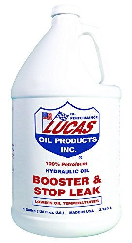 Lucas Oil Hydraulic Oil Booster and Stop Leak 1 gal Case of 4 P/N 10018-4