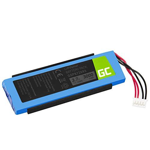 Green Cell ® GSP872693 P763098 03 Akku, Batterie für Lautsprecher Bluetooth JBL Flip III Flip 3 (Li-Polymer Zellen 3000mAh 3.7V) Moderne Elektronik, volle kompatibilität, vertrauter