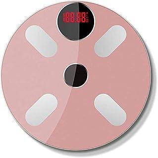 Báscula de baño digital Luz energía doméstica Escala electrónica, multifunción Báscula báscula peso corporal (Color : C)