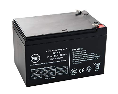 eBike 24V Bicycle 12V 14Ah Electric Bicycle Battery - This is an AJC Brand Replacement