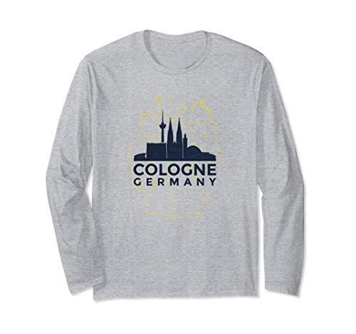 Köln Deutschland Köln Deutsch Langarmshirt