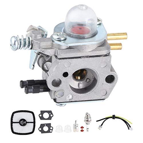 CjnJX-Vases Carburador Cortasetos, Kit de carburador de Aluminio, Accesorio para Echo HC1500 12520005962 para Zama C1U-K51, Resistente y Duradero