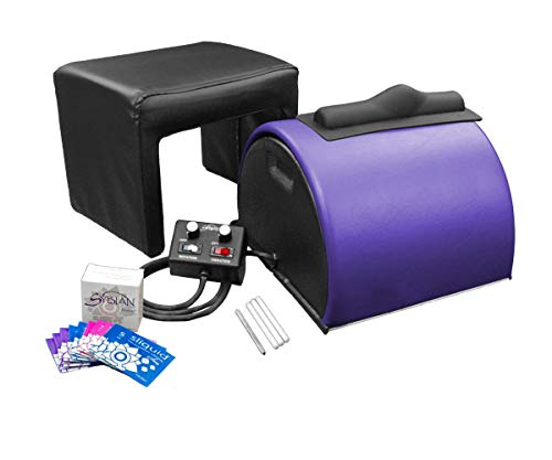 Sybian for Women - Sybian Package - Purple with Beige Attachments