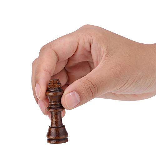 Seacanl Juego de ajedrez, Juego de ajedrez portátil, 3 en 1 para niños, niños