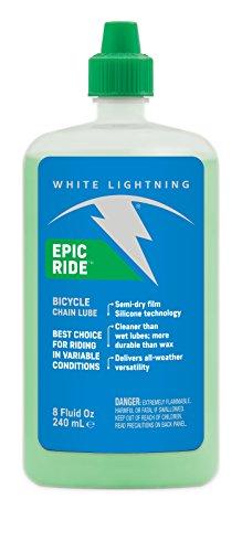 White Lightning Epic Ride Lube - Aceite para Bicicletas, Tal