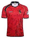 2019 Espana Coupe du Monde de Rugby Jersey de Rugby, Espagne Jersey National Team Football Jersey T-Shirt T-Shirt d'athlète, T-Shirt de Football de Supporters T-Shirt Sport Top, Pro Jersey