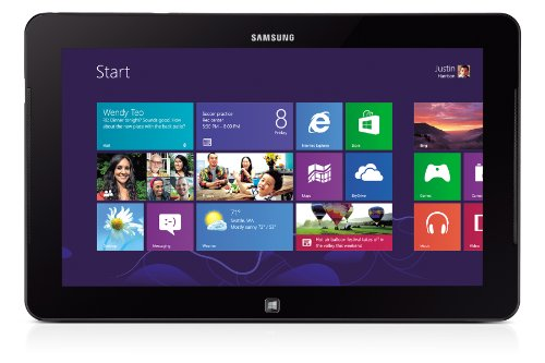 Samsung ATIV Tab XE700T1C 64GB 3G Black - Tablets (Tablet Full-Size, Windows, Tablet, Windows 8, 64-bit, Schwarz)