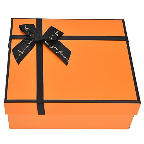 KASD Caja de Regalo, Almacenamiento Conveniente Hermoso reciclable Caja de Regalo de Alta Gama para Colocar Joyas, Dulces, Tarjetas de Regalo, Velas pequeñas, perfumes o Colonia