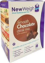 NewWeigh Smooth Chocolate Meal Replacement Shake 7 x 60g sachets – Suitable for Coeliacs Vegetarians – High Fibre High Protein Estimated Price : £ 11,25