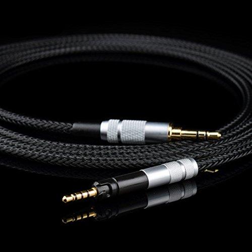 PCCITY ATH-M50X/ATH-M40X/ATH-M70X/M40X/M70x/M50X ヘッドホン 対応用 ケーブル ヘッドフォン リケーブル 5N OFC ケーブル S (2M)