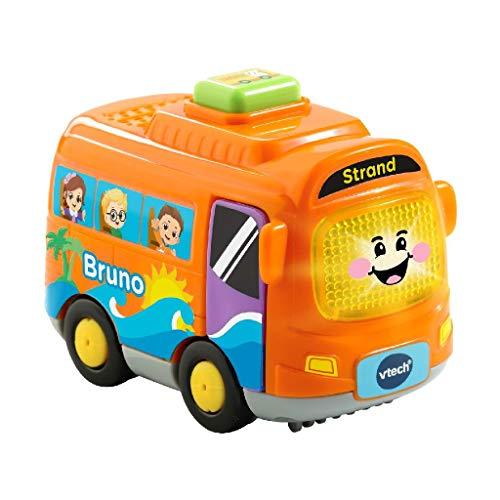 VTech - Toet Toet Auto's Bruno Bus - Multikleuren - Plastic - Voor Jongens en Meisjes - Van 1 tot 5 jaar - Nederlands Gesproken