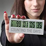 Reusable Countdown Clock for All of the Big Events in Your Life, Wedding Save the Date Countdown, Baby Due Date Countdown, Retirement Countdown Timer, Election Countdown, up to 999 Day Countdown Timer