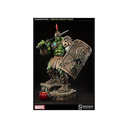 Sideshow Collectibles Marvel Premium Format Polystone Statue Gladiator Hulk image