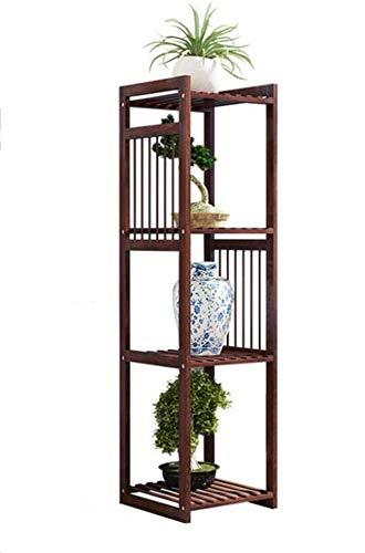 Balkon Multilayer Onafhankelijke Massief Houten Bloempot Plant Bloem Stand,130CM