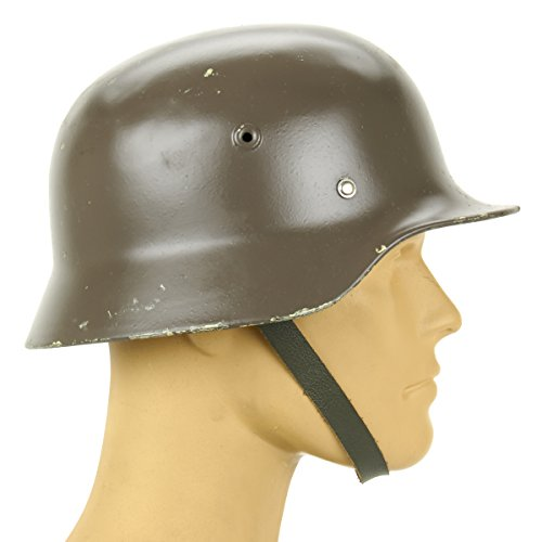 Original German M40 WWII Type Steel Helmet- Finnish M40/55, Size 59cm, US 7 3/8
