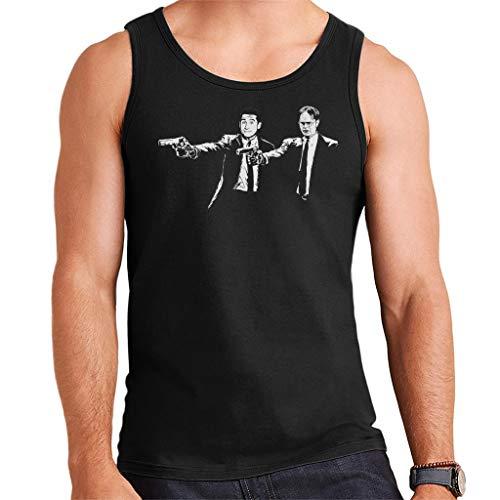 The Office US Dwight Michael Banksy Pulp Fiction Men's Vest