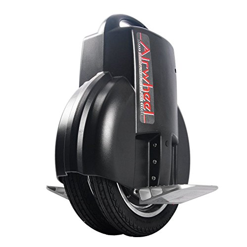 Airwheel Q3, monoruota eléctrico autobilanciante Hombre, Negro, 51.8x 40.8x 20cm