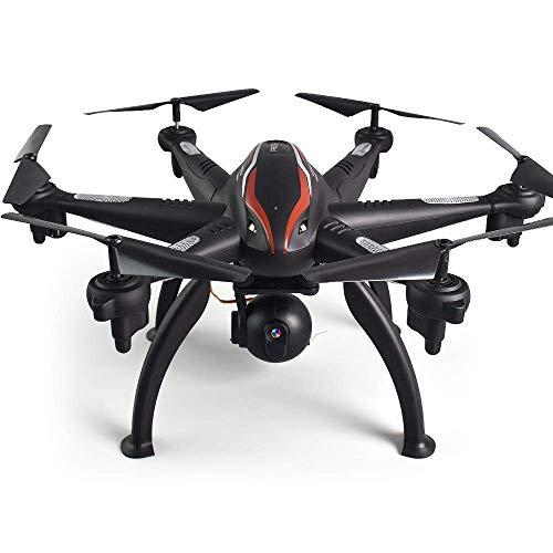 Nuokix Disparo a Gran Altitud RC Quadcopter L100 Drones 5G gráfico SIXAXIS vehículo HD Profesional de filmación aérea GPS Dual Ajustable sin tripulación capitán Vida Aviones de Control Remoto