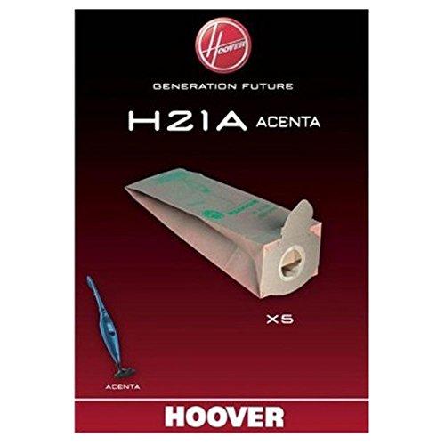 Hoover H21A Genuine Acenta Series-Sacchetti per aspirapolvere, confezione da 5 pezzi