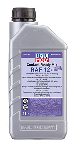 LIQUI MOLY 6924 Kühler Coolant Ready Mix RAF12 Plus, 1 L