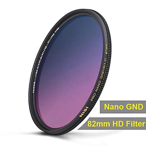 NiSi 82mm Nano Coating Graduated Neutral Density GND16 1.2 Filter