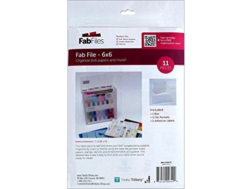 Totally-Tiffany 15,2x 15,2cm Fab Datei Box