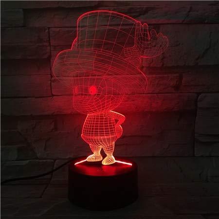 Cute Boy Cambio de Color de la luz Cable de Juguete Interruptor táctil Mesa niño Hobby Transporte por Goteo