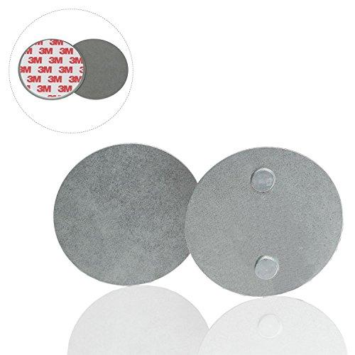 Safe2Home® 5X rookmelder snelbevestiging 5-delige set - rookmelder magneet houder voor gladde oppervlakken