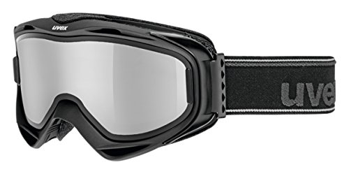 Uvex g.gl 300 TO Skibrille, Black Mat, One Size