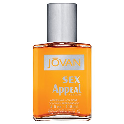 Jovan Musk for Men, After Shave Cologne, Sex Appeal, 4 fl. oz., Men's Fragrance with Musk, Spicy, Earthy & Woody, A Sexually Appealing & Attractive scent, makes a great gift