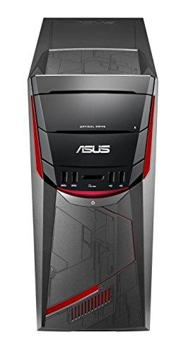 Asus 90PD02E1-M05210 Unité centrale Noir Rouge (AMD, 8 Go de RAM, 1 To, Nvidia GeForce GTX1050 avec 2 Go GDDR5, Endless)