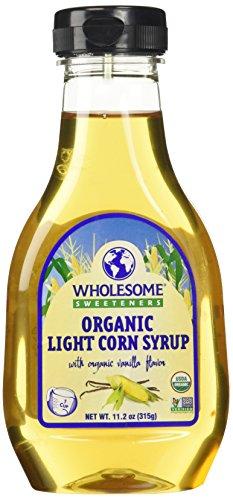 Wholesome Sweeteners Organic Light Corn Syrup, 11.2 oz