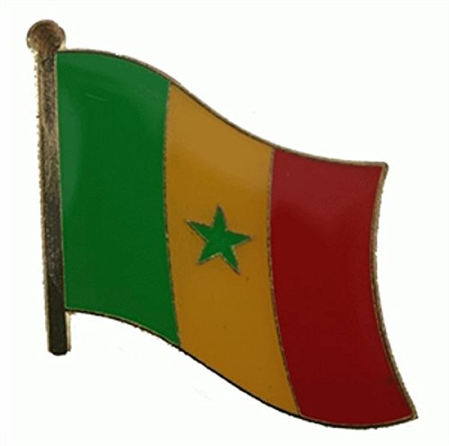 U24 Flaggenpin Senegal Flagge Fahne Pin Anstecker