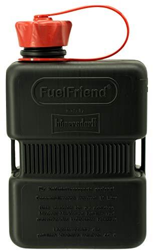 FuelFriend®-Plus 1,0 Liter - Sonderserie Black - Klein-Benzinkanister Mini-Reservekanister