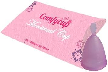 Copa menstrual, copa menstrual, 3 colores y 2 tallas (Gr 2 (tamaño grande), color morado