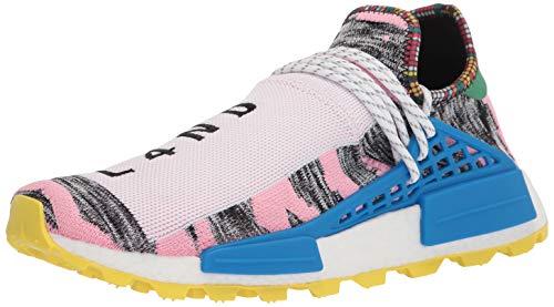 adidas Originals Men's Pharrell Williams SOLARHU NMD Sneaker, Light Pink/Black/Bright Blue, 9