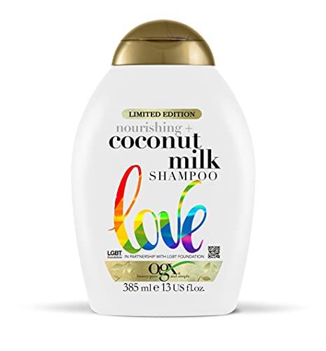 OGX Coconut Milk Sulfate Free Shampoo, 385 ml