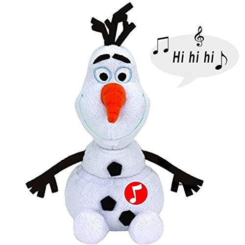 Ty - Olaf Snowman de Frozen, confeccionado con Seda Ty súpe