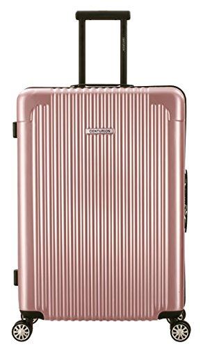 Centurion Premium Luggage Polycarbonate Hardside Spinner (29 inch, Apple Rose)