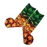 Gusspower Unisex mujer hombre divertido Impresión 3D de Animales y frutas Casual calcetines (B)