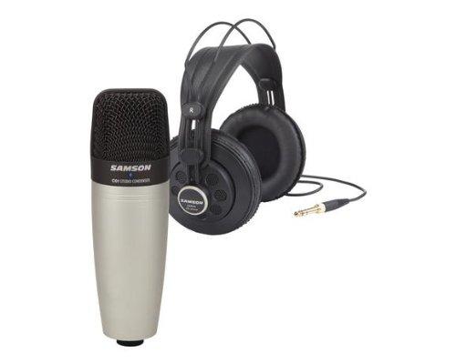 Samson SAC01850 - C01/SR850 - Bundle Microfono a Condensatore Cardioide + Cuffie semi-open