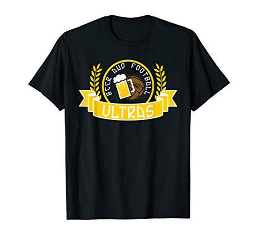 Lorbeerkranz Fussball Pyro Bier Ultras T-Shirt