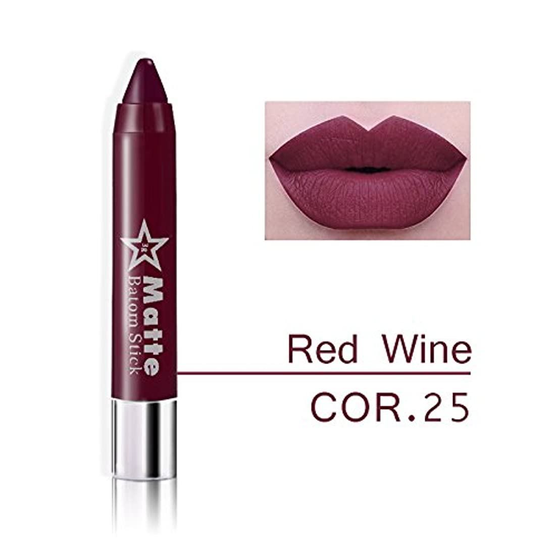 無駄に胴体クレタMiss Rose Brand lips Matte Moisturizing Lipstick Makeup Lipsticks Waterproof matte Lip gloss Mate Lipsticks Make up