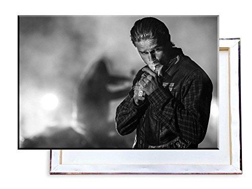 Unified Distribution Sons of Anarchy Jax Teller Charlie Hunnam - 120x80 cm - Bilder & Kunstdrucke fertig auf Leinwand aufgespannt und in erstklassiger Druckqualität