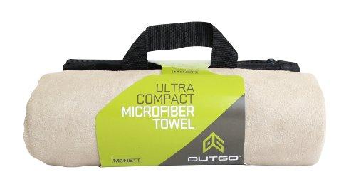 Microfiber Towel, 35 x 62 in., Khaki