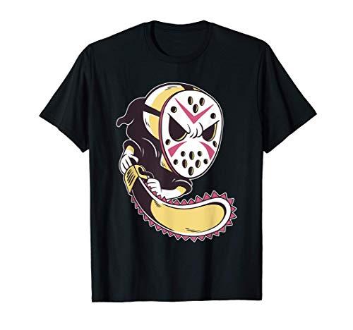 Máscara de Hockey de Halloween de la Parca Camiseta