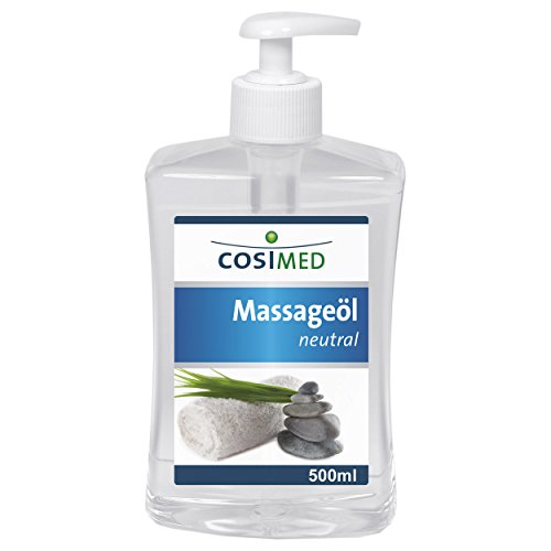CosiMed Massageöl Neutral, 1er Pack (1 x 500 ml)