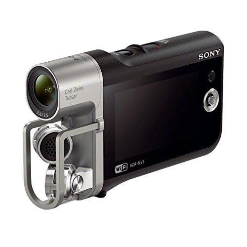 Sony HDR MV1 Musik-/Videorekorder (8,4 Megapixel, 6,7 cm (2,7 Zoll) Display, Full HD, NFC, Linear PCM, HDMI, WiFi)